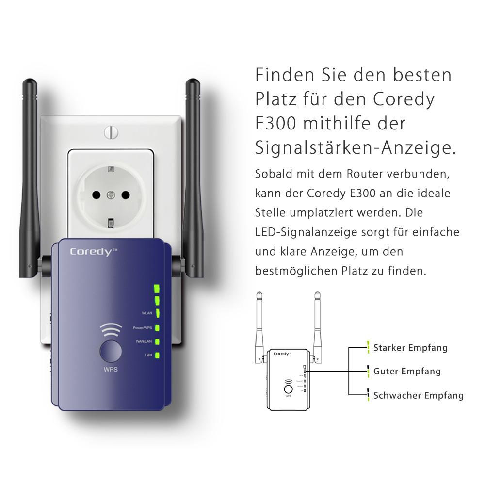 coredy e300 de wifi extender products coredy connect your smart life. Black Bedroom Furniture Sets. Home Design Ideas