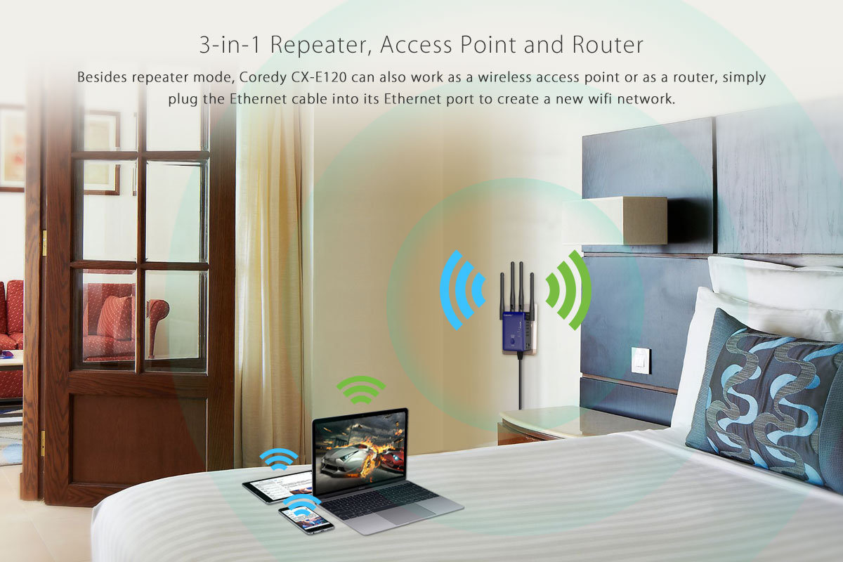 Create a new AC WiFi access point